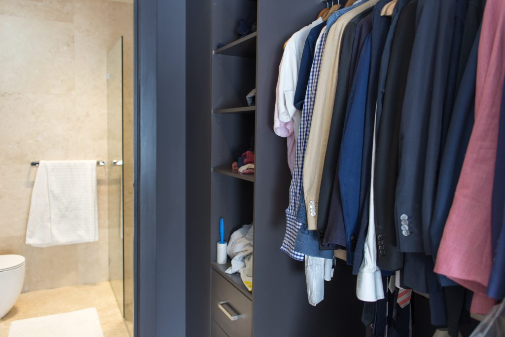 Master Bedroom Walk-in Wardrobe