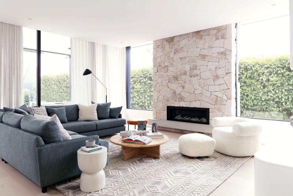 Sydney photoshoot location with fireplace